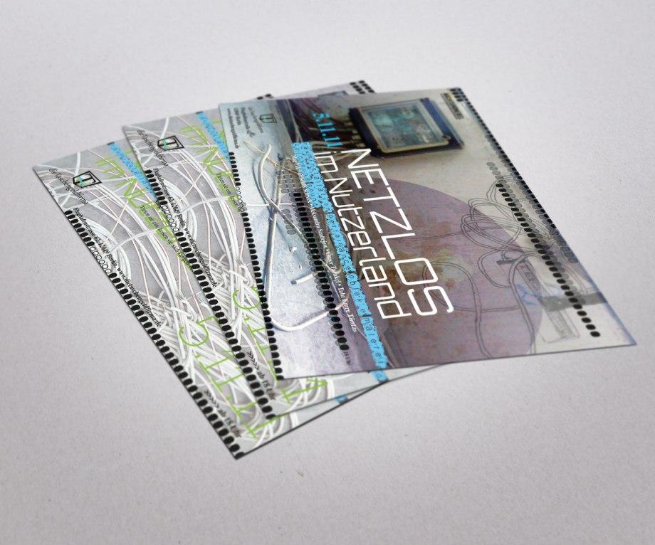 Flyer Taschengeldfirma Netzlos im Nutzerland